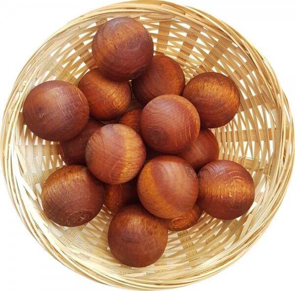 25x Honig Duftholz zur Lufterfrischung und Raumbeduftung - Dufthölzer - Duftfrüchte - Duftkugel