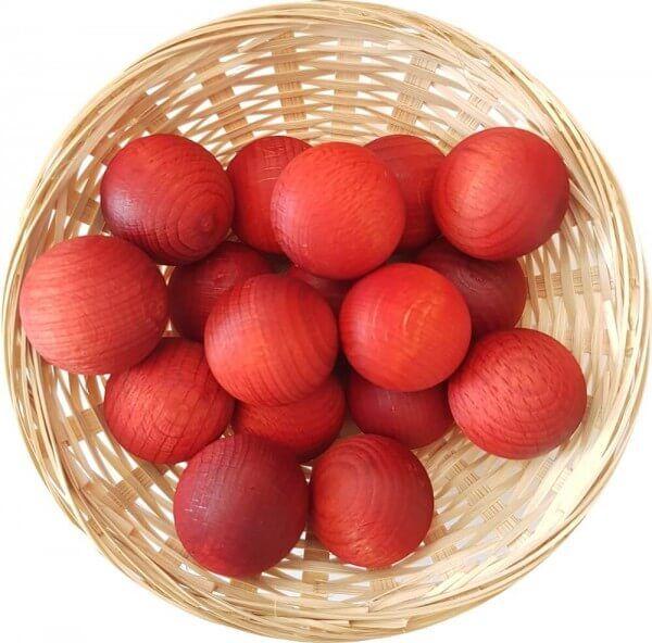25x Orange Duftholz zur Lufterfrischung und Raumbeduftung - Dufthölzer - Duftfrüchte - Duftkugel