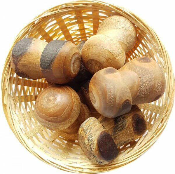 5x Anti Stress Duftholz zur Lufterfrischung und Raumbeduftung - Dufthölzer - Duftfrüchte - Duftkugel