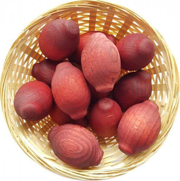 25x Mango Duftholz zur Lufterfrischung und Raumbeduftung - Dufthölzer - Duftfrüchte - Duftkugel