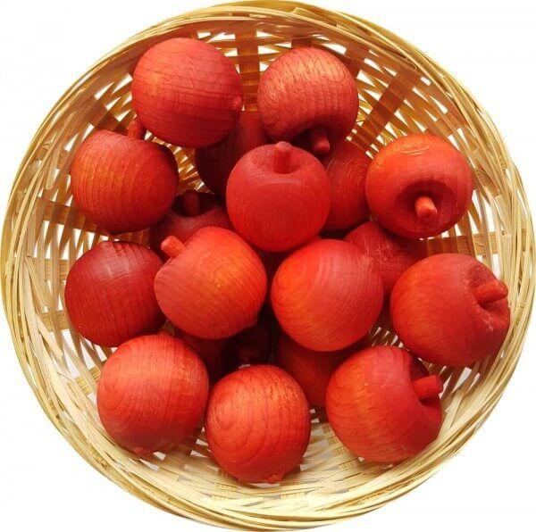 25x Mandarine Duftholz zur Lufterfrischung und Raumbeduftung - Dufthölzer - Duftfrüchte - Duftkugel