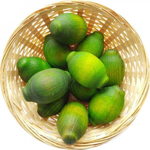 25x Limone Duftholz zur Lufterfrischung und Raumbeduftung - Dufthölzer - Duftfrüchte - Duftkugel
